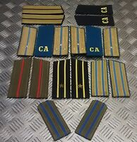 Genuine Russian Forces Shoulder Boards / Slides / Epaulettes Various styles