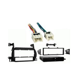 Fits Nissan Altima 2002-2004 Single DIN Stereo Harness Radio Install Dash Kit
