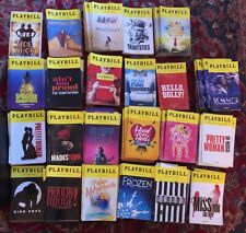 Broadway, Off Broadway & Try-Out Playbills