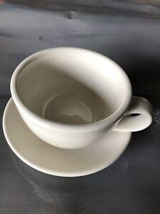 ACME Coffee/Tea Cup & Saucer. 280ml. (Set Of 2)