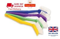 4 x Washing Up Dish Brushes Dish Scrubber Brush Pan Pot Cleaner - By Duzzit