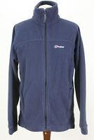 BERGHAUS Navy Fleece Jacket size Uk 16