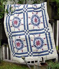 Kleiner Quilt,  aufw. Muster, 100 x 150 cm, Handarbeit!