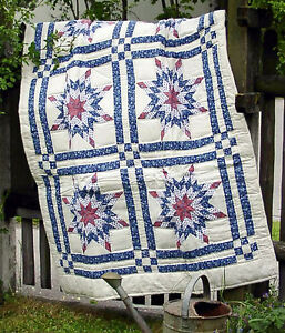 Kleiner Quilt,  aufw. Muster, 100 x 150 cm, Patchwork, Handarbeit!