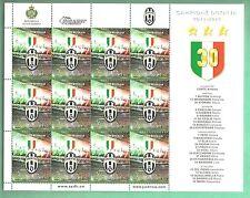FOGLIETTO NUOVO SAN MARINO Juventus CAMPIONE D'ITALIA 2011 2012 N. 30 OCCASIONE