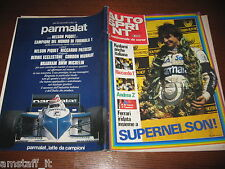 AUTOSPRINT 1983/42=NELSON PIQUET WORLD CHAMPION CAMPIONE DEL MONDO F1