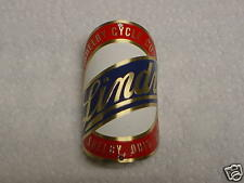 Lindy 1st Bike Badge Bicycle Emblem Acid Etched Brass Shelby Cycle 1927