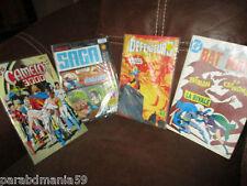 Super-Héros- lot Bd s-DC,Ombrax saga,Bat man,les défenseurs