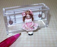 "Miniature Ethel Hicks Porcelain Doll ""Wee Hope"": DOLLHOUSE Miniatures 1/12"