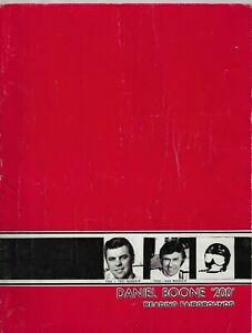"1970 Reading(PA) Stock Car Association ""Daniel Boone 200"" Program"