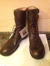 Frye Boots Leder 13 NEU Fulton Cuff Combat Militär Manschette Stiefel Springer