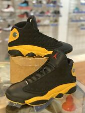 "Air Jordan 13 Melo ""Class Of 2002"" Men's Sz 10.5 BLACK/UNIVERSITY RED 414571 035"