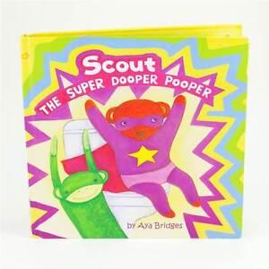 POO POURRI Super Dooper Pooper Kids Potty Training Book Bathroom Toilet Story