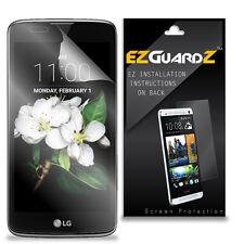 4X EZguardz LCD Screen Protector Skin Cover Shield HD 4X For LG K7