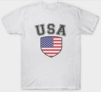 USA T SHIRT TOP AMERICAN FLAG COUNTRY UNTIED STATES OF AMERICA PATRIOT