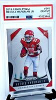 2019 Prizm Chiefs MECOLE HARDMAN JR ROOKIE CARD PSA 10 GEM MINT
