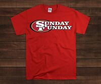 San Francisco 49ers Sunday Funday Football T-Shirt - Niners Football