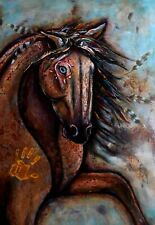 Whimsy Wood Jigsaw Puzzle-Medicine Horse-500 pc wood puzzle