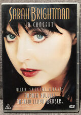 SARAH BRIGHTMAN In Concert 1997 CD AUSTRALIA VGC FAST FREE POST