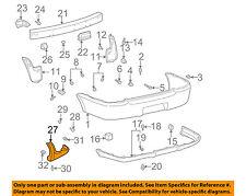 TOYOTA OEM 00-02 Echo-Spoiler Kit-Rear Spoiler Left 7689652900