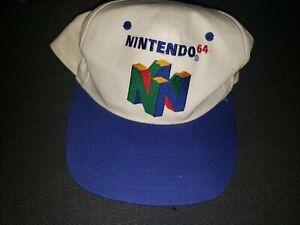 RARE! Vintage 90s Nintendo 64 Kelloggs Cereal Promo, Super Mario 64 Snapback Hat