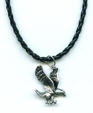 COLLANA CIONDOLO aquila eagle necklace pendant WESTERN INDIANI