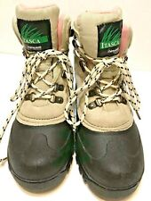 Itasca Womens Sand Color Thinsulate Warm Winter Snow Boots size 6 Mint