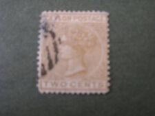 CEYLON, SCOTT # 77, 2c. VALUE BROWN 1879 QV ISSUE USED