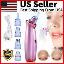 Electric Blackhead Remover Cleaner Face Diamond Pore Vacuum Suction Dermabrasion