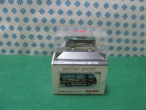 """Vintage  -  Mercedes-Benz 100 D  """" Diebels-Zakspeed """"- H0 1/87 Herpa"""