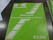 Vintage Kawasaki KX 250 C-1 Owner's & Service Manual