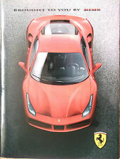 2015 Ferrari 488 GTB Geneva press kit only brochure magazine NO DVD NO USB