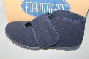 Women's Foamtreads Tradition Navy Bedroom Slippers