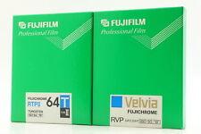 [ New ] Fujifilm Fujichrome 64T RTPII II / Velvia RVP 50 4x5 10 sheets Japan