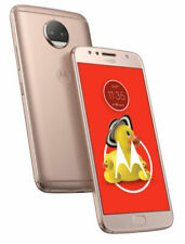 Motorola - Moto G5S Plus 4G LTE 32GB Memory Cell Phone (Unlocked) Blush Gold