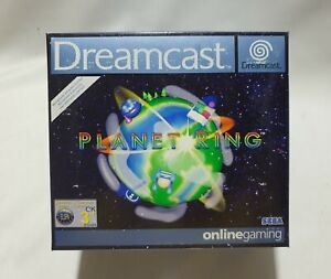 Original DREAMCAST PLANET RING, game with microphone, NEW SEALED