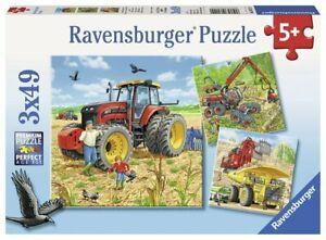 Ravensburger Puzzle 3x49pc - Big Machines RB08012-0