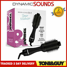Toni & Guy Brush and Shine 2-in-1 Hair Dryer Volumiser