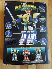 Bandai Power Rangers Deluxe ZEO Megazord In Box 100% Missing pieces, Litely Play