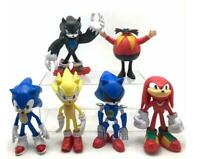 The Hedgehog colorful 6pcs PVC figure figures doll toy dolls christmas gift hot