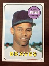 1969 TOPPS Baseball SONNY JACKSON #53 NRMT