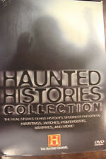 HAUNTED HISTORIES COLLECTION 5 DVDS OOP BOX SET RARE DELETED PAL HISTORY CHANNEL