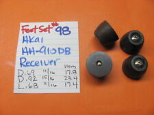 Feet Set #98 Akai Aa-910Db Stereo Receiver