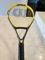 Wilson V code Oversized Tennis Racquet