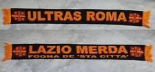 SCIARPA ULTRAS AS ROMA VINTAGE SCARF BUFANDA SCHAL ULTRà CALCIO no maglia LAZIO