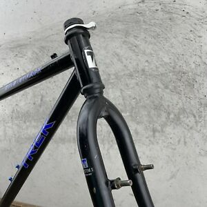 """Vintage Trek 930 Frame Set 90s MTB OX COMP Steel 16.5"""" 21"""" Small Made in USA"""