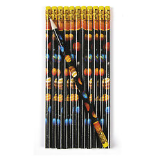 24 #2 Solar System Galaxy PENCILS BIRTHDAY Party favors OUTER SPACE PLANETS