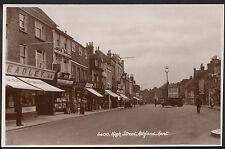 Kent Postcard - High Street, Ashford BT411