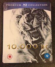 10,000 BC Blu-Ray SteelBook Premium UK Limited Edition Region Free New OOP Rare!