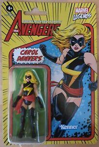"Marvel Legends Retro Carol Danvers 3.75"" Action Figure"